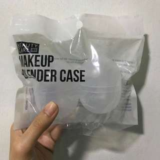 TRANSPARENT - 2pc Beauty Blender Case