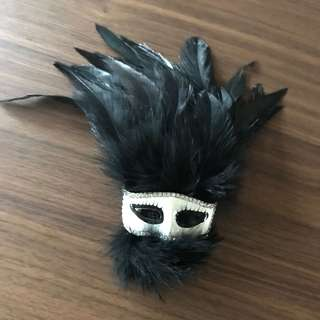 BN Phantom Masquerade Mask brooch