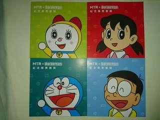 MTR*Doraemon紀念車票套裝