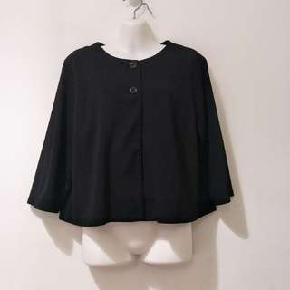 Black working jacket/coat/outerwear