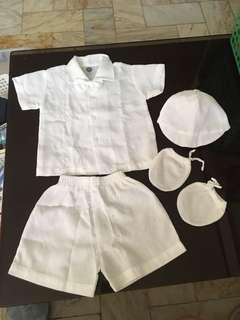 Baptismal Clothes for Baby Boy