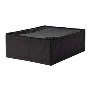 IKEA SKUBB 收納盒, 黑色