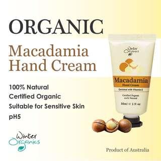 Macadamia Hand Cream (Organic)