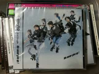 (All 3 CDs) Kis-My-Ft2 We never give up !