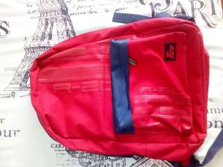 Red backpack for kids