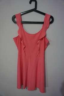Pink mini jumpsuit