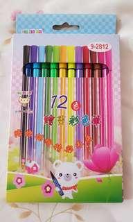 拉拉熊 12色繪畫彩色筆