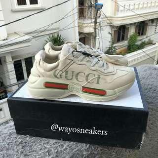 "Gucci Rhyton Vintage Trainer Sneaker ""Vintage"""