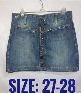 Buttondown Skirt