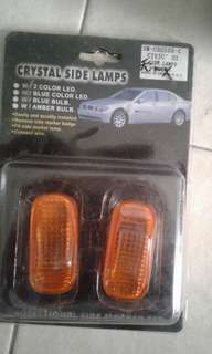 Crystal  side lamps civic