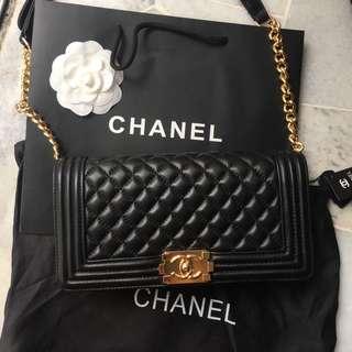 Chanel leboy gold chain