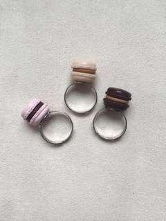 Macaron Rings