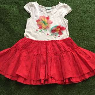 Red/White Dress