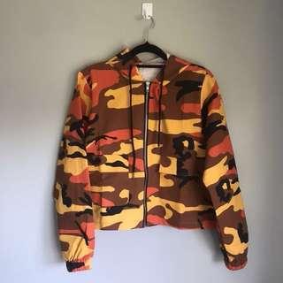Orange Camo Jacket