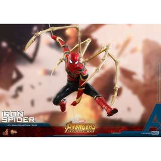 [EXTRA PO SLOTS AVAILABLE] Hot Toys - MMS482 - Avengers: Infinity War - Iron Spider