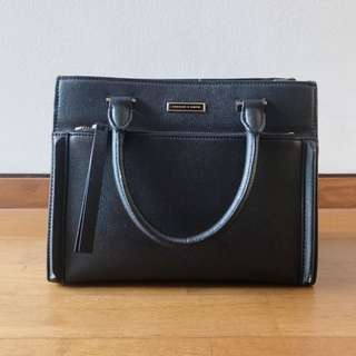 Charles & Keith Black Work Bag