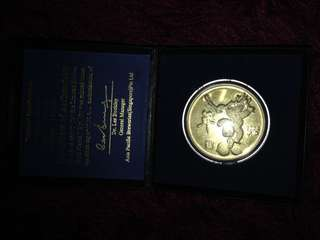 24K gold plated coin for sale