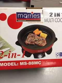 2 in 1 multi cooker MS88MC