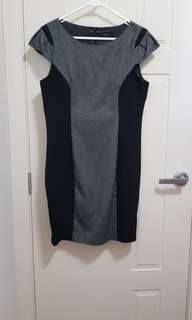 Tokito City Black and Grey Dress
