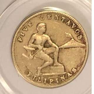 1944年菲律賓美利堅合眾國硬幣