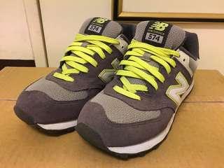 New Balance 574 運動鞋 26號 紫螢光(二手)可議價