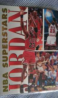 NBA咭 Fleer 1994 Nba superstars 7 of 20(Michael Jordan)