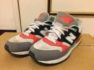 New Balance 530 運動鞋 橘白 26號 (二手)可議價