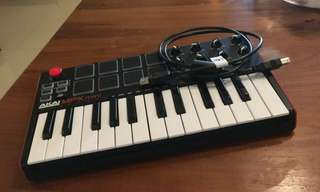 Akai MPK mini MKII 全新二代MIDI鍵盤 25鍵 Keyboard 25Key MK2 主控鍵盤/附打擊版功能