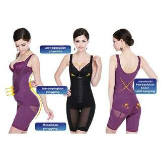 Full body Bengkung Corset sliming shapeware + Free postage