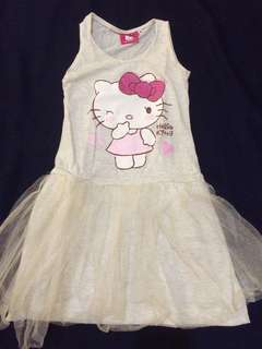 Hello Kitty dress for little girl