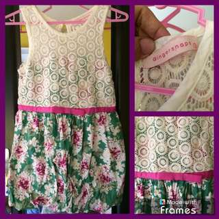 Gingersnaps dress for little girl