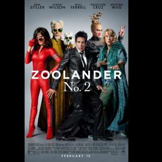 [Rent-A-Movie] ZOOLANDER 2 (2016)