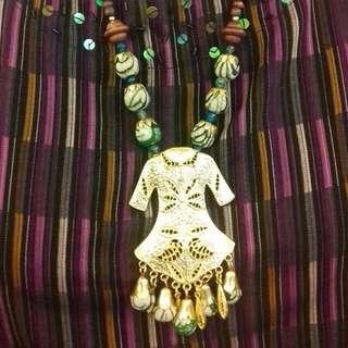 Kalung bros kebaya batik