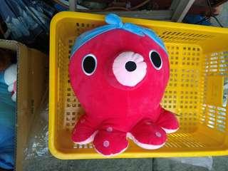 [代售] 章魚娃娃 有吊牌 久放