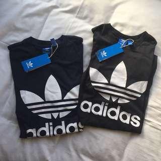 Adidas 三葉草短踢