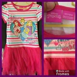Disney Princess dress for little girl