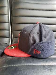New Era Cap 3 Styles Size 7 1/8 Winter Red Sox