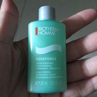 Biotherm Homme refreshing lotion