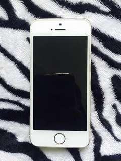 Iphone 5s gold putih