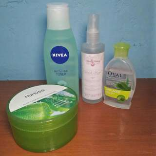 TAKE ALL SKIN CARE PRODUCTS FOR 250PHP