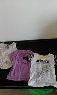 2-3歲短袖棉T上衣