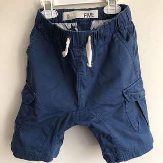 Cotton on男童休閒短褲5Y~鬆緊褲頭~約六七成新