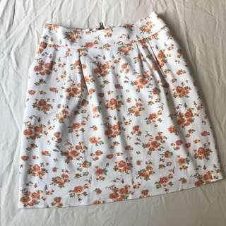 Japanese floral skirt