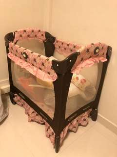 Graco Travel baby cot