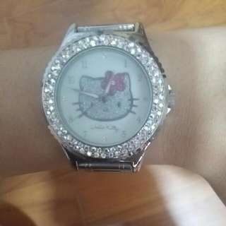 Hello Kitty Glittery Watch