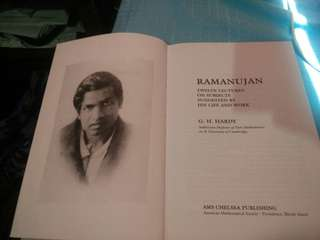 Ramanujan : Twelves Lectures on Subject Suggested By His Life And Work