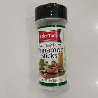 Spice Time Cinnamon Sticks 43gm