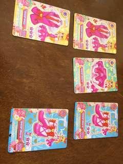 星光樂園卡 set $30 可單售