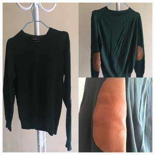 WOOD Green Sweater
