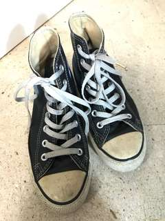 Converse 高筒皮革鞋